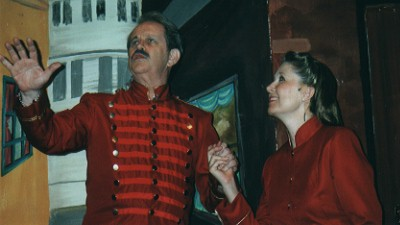 "Paul Robere (Uncle Arvide) tells Louise Truslow (Sarah) ""More I cannot wish you..."""