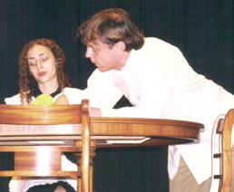Patrick L'Argent and Paola Scheggia