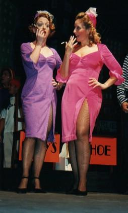 "A couple of ""dolls"" - Samantha Dunn and Jane Prichard"
