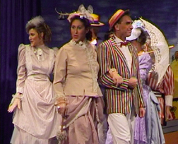 "Angela Mitchell, Shelley Niezner and Jack Dunford in ""A Seaside Scena"""