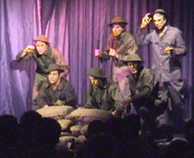 "The Gentlemen in ""A WWI Scena"""