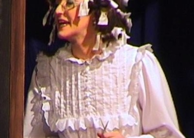 "Angela Mitchell in ""Come into the Garden, Maud"""