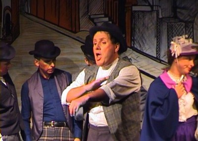"Colin Jolly and company in  ""A London Scena"""