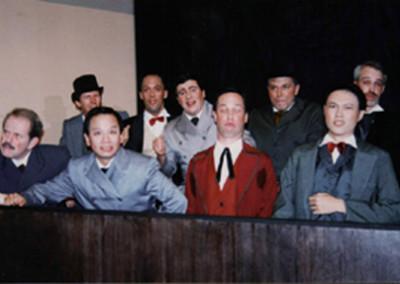 The Jurymen: Paul Robere, Rick Whisenand, Michael Than, Kevin Moll, Colin Jolly, Michael Popkin, Bruce Darrington, Alan Fieldus, Ton Pratontap