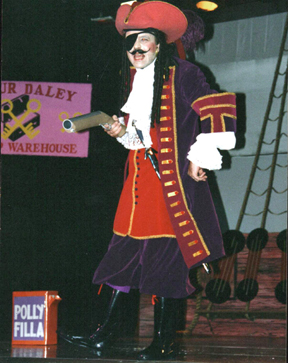 Jonathan Truslow as The Pirate King