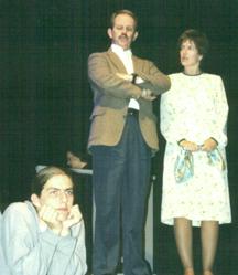 Jonathan Newton as Alan Strang, Paul Robere as Frank Strang, Bonnie Zellerbach as Dora Strang