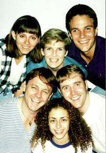 The cast: Michelle Zielinski, Bonnie Zellerbach, Brian Garrigan, Patrick L'Argent, Paola Scheggia, Frank Goudsmit