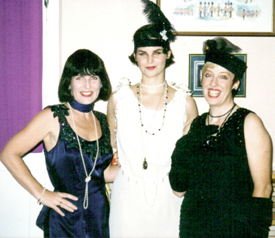 Lovely devious ladies: Bonnie Zellerbach, Kate Kirby, and Barbara Proctor