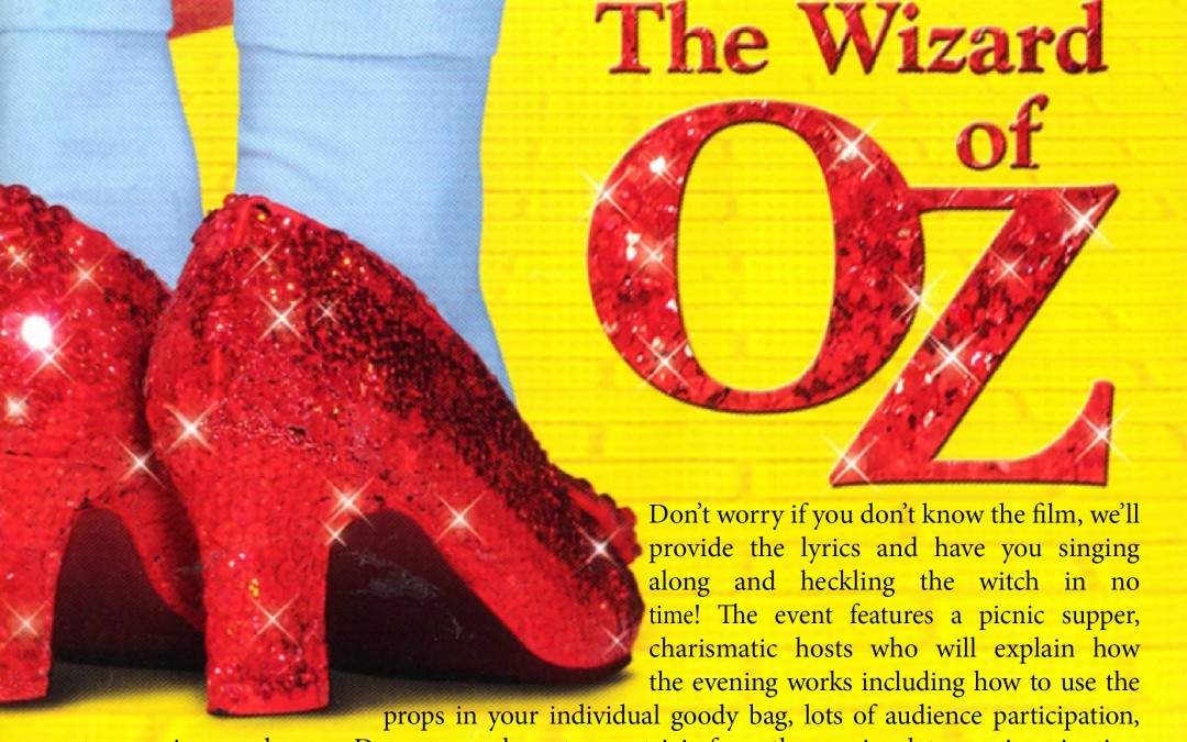 The Wizard of Oz – Sing-Along (2013)