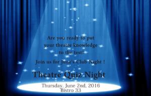 June Club Night banner