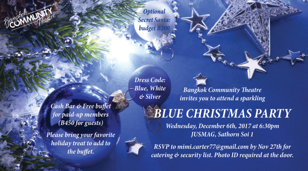 have you rsvpd to bcts blue christmas party on december 6th hurry up cause well be blue without you - I Ll Have A Blue Christmas